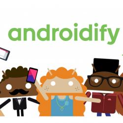 Aindroidify Google kleding bedrukken
