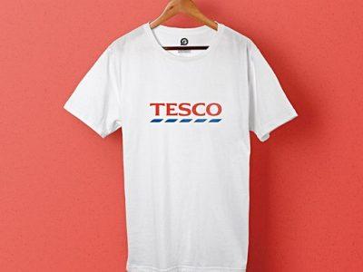 Bedrukte uniformen voor Tesco