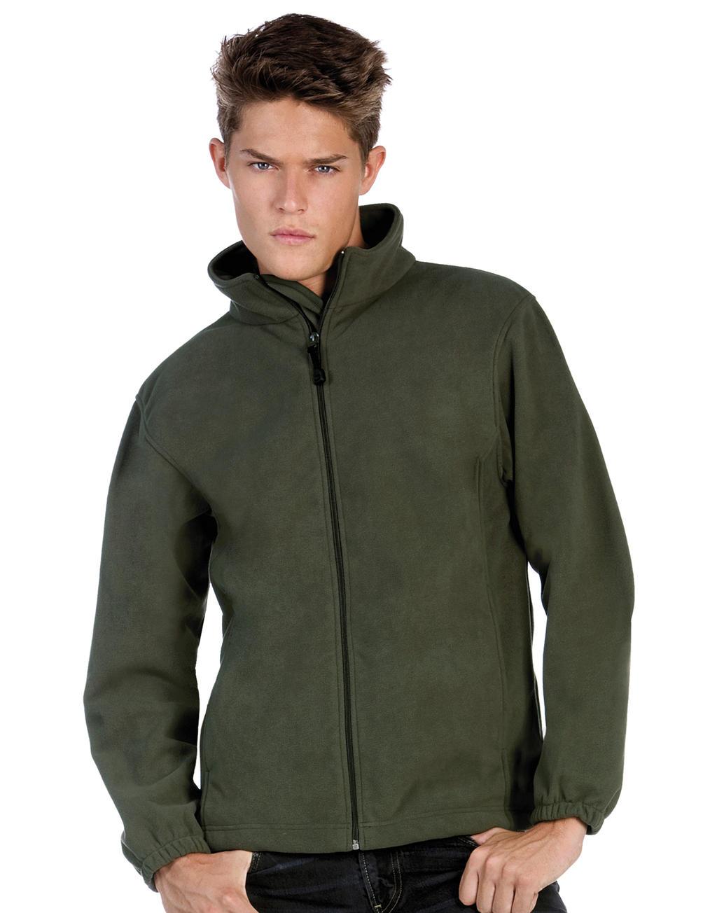 Fleece jassen donker groen mannen