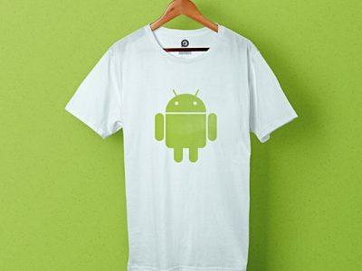 Bedrukte T-shirts en canvas tassen voor Androidify
