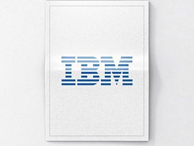 Projecten bedrukte nieuws krant voor IBM