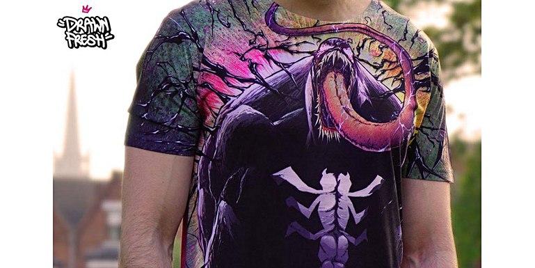 Sublimatie T-shirts voor Drawn Fresh voorbeeld 3