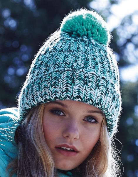 onze merken Beechfield winter muts vrouwen