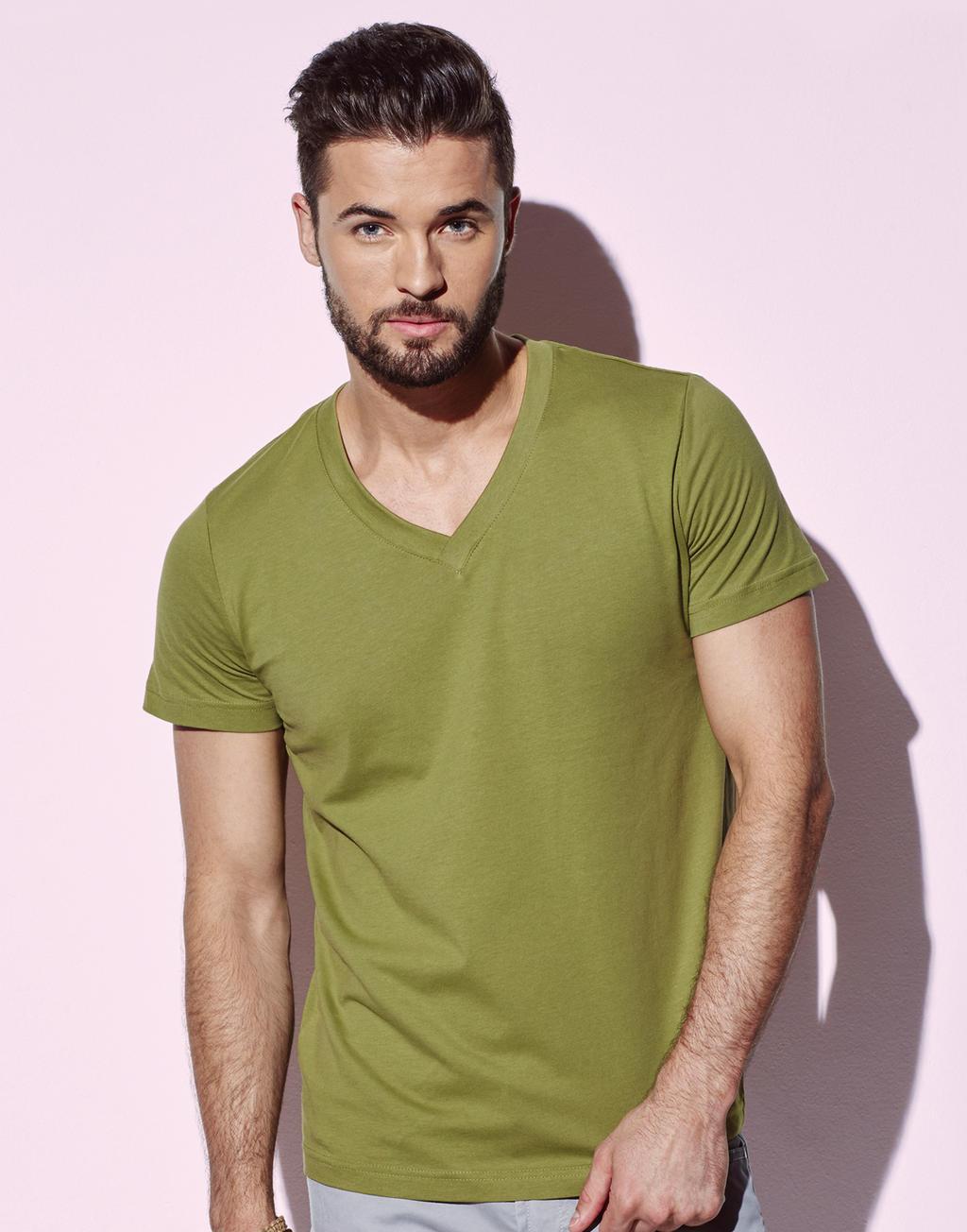 Duurzame T-shirts mannen v neck