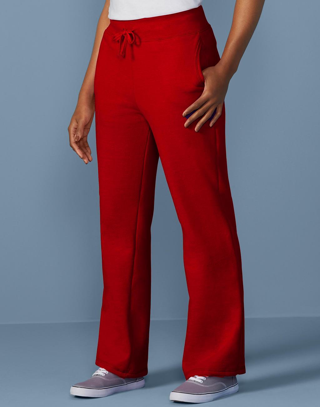 Onze merken GIldan sweatpants rood vrouwen