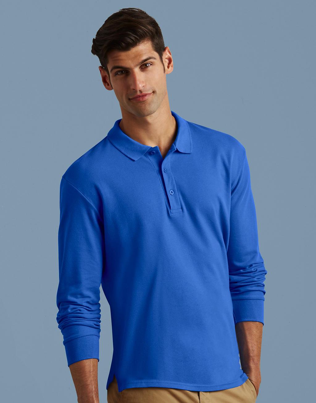 Gildan blauw polo mannen