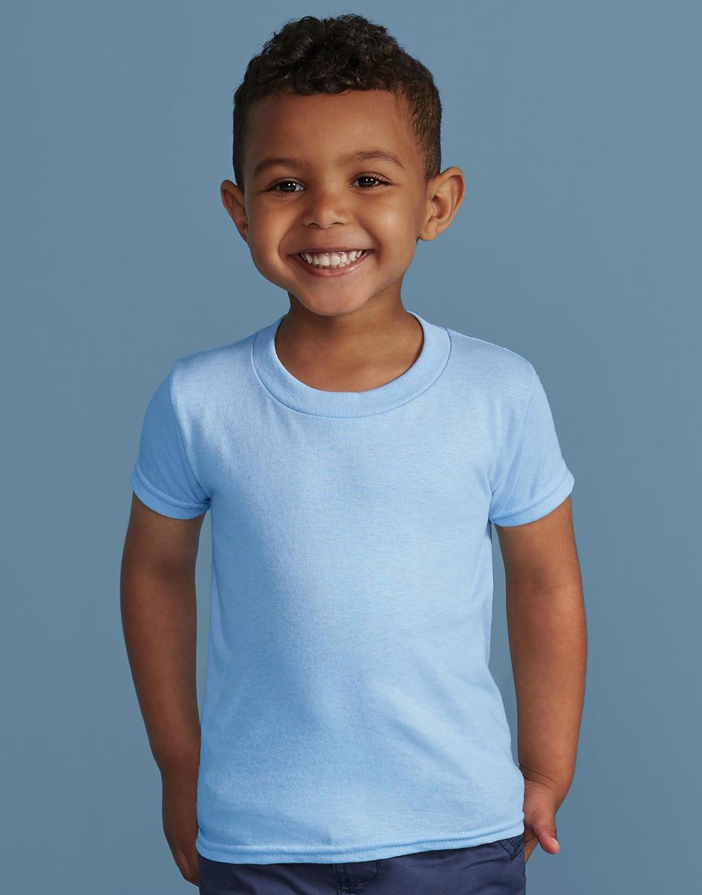 Onze merken Gildan lichtblauw jongens