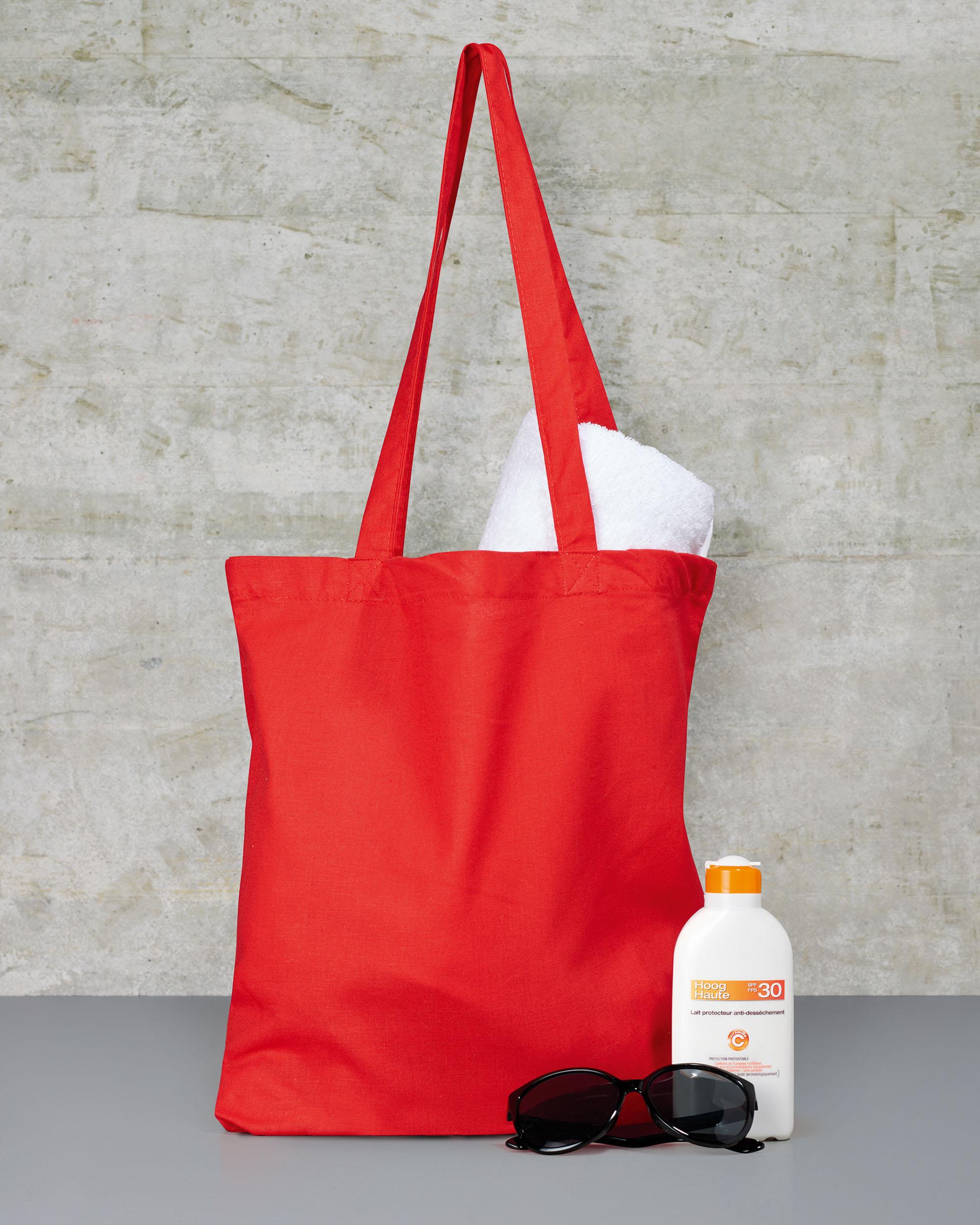 Jassz canvas tas rood