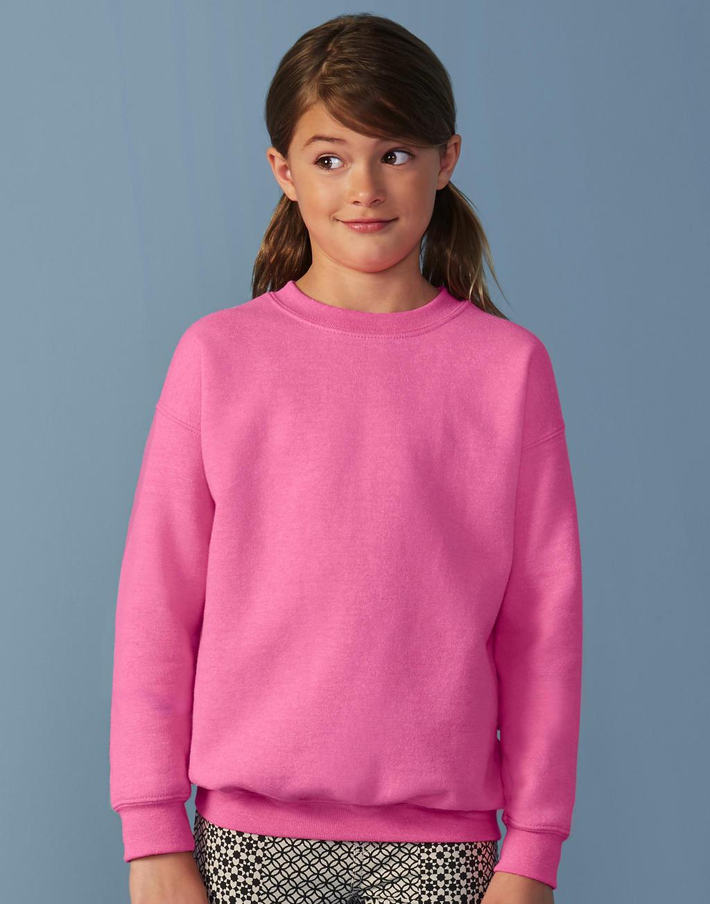Gildan Jumper meisjes roze