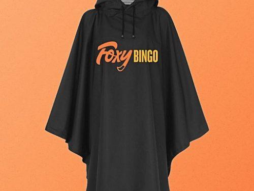 Zeefdruk regenjassen voor Foxy Bingo thumbnail