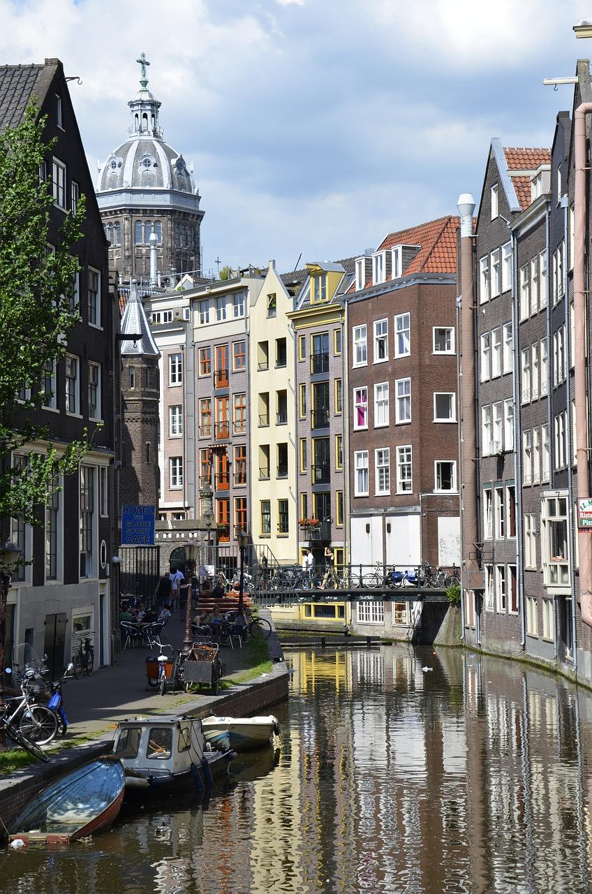 Kleding bedrukken Amsterdam gracht