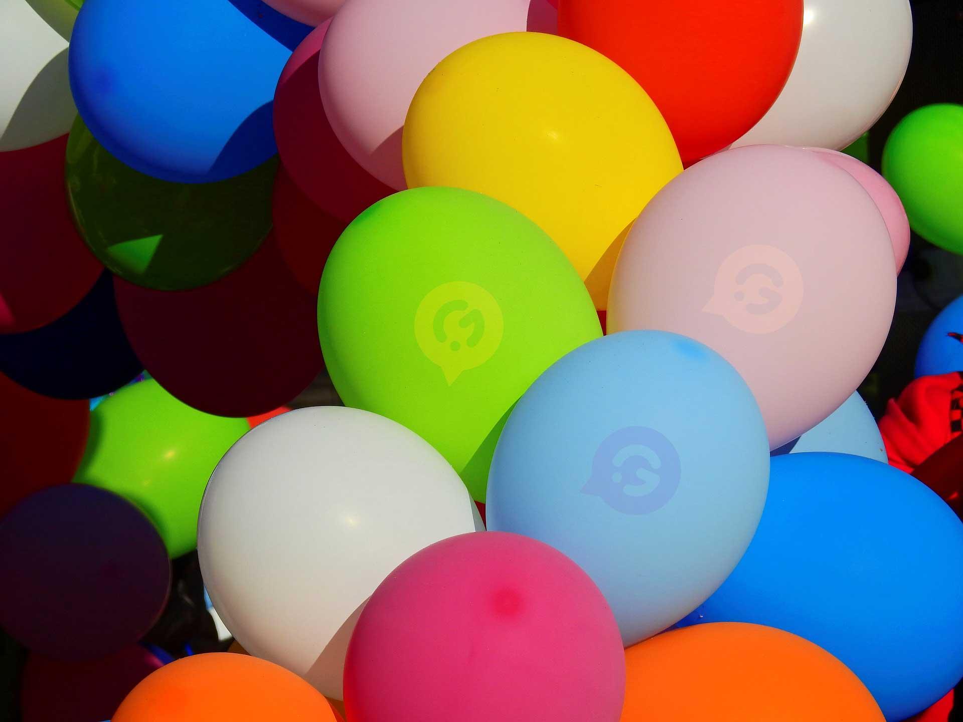 ballonnen bedrukken multi color
